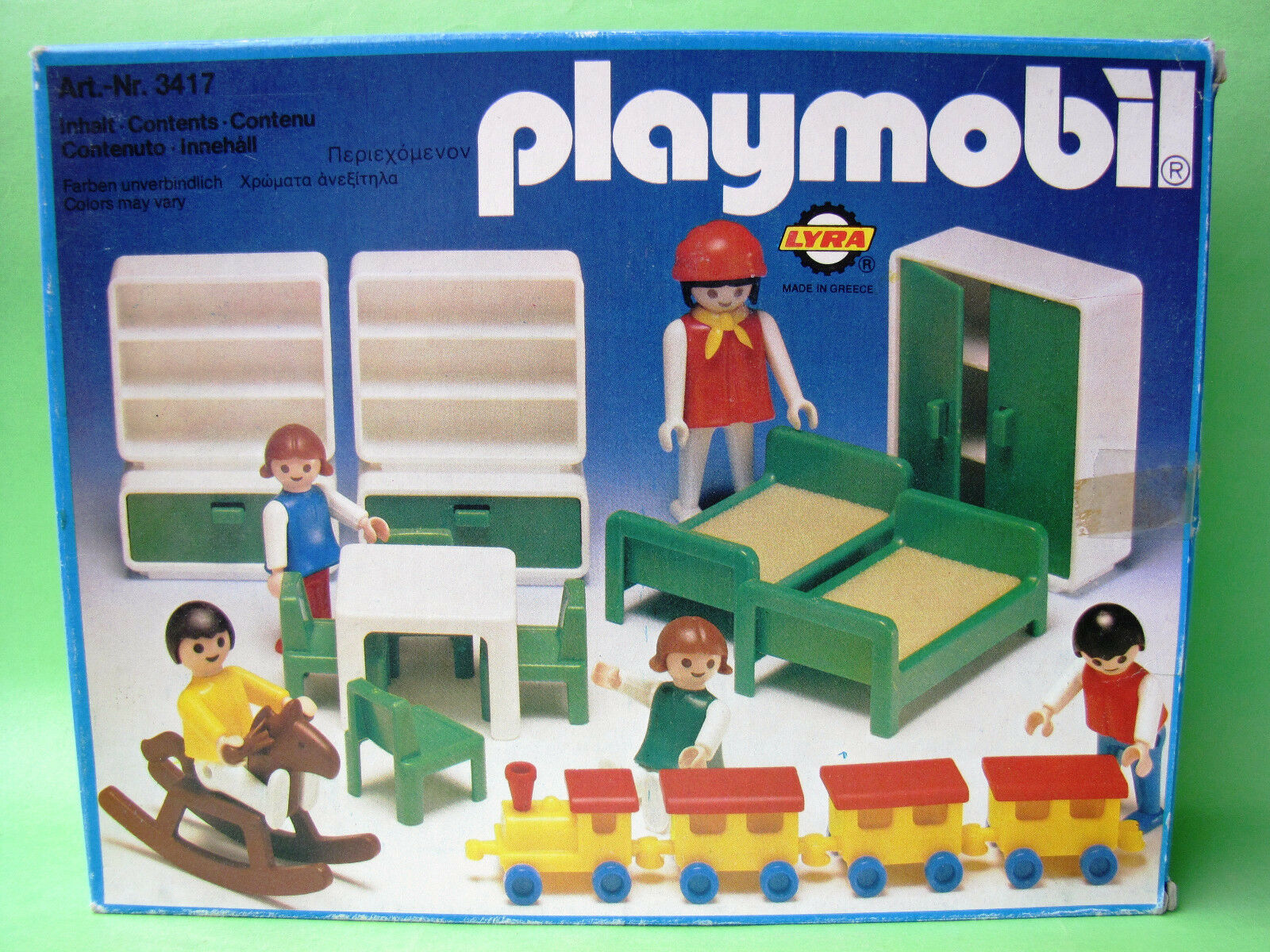Playmobil Lyra  1976 bambini Room 3417 MIB Geobra Brestätter & Co OVP  prezzi bassi