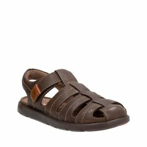 Image is loading Clarks-Men-039-s-Unwilmore-Bay-Fisherman-Sandal-