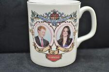 ROYAL WEDDING SOUVENIR ANNIVERSARY ERROR PRINCE HARRY WILLIAM CATHERINE  ENGLAND