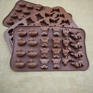 Silicone-Bear-Cake-Chocolate-Mould-Candy-Cookie-DIY-Decorating-Baking-Mold-NE8