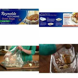 Details about 12 Packages of 5 Liners Reynolds Kitchens Large Size Oven  Bags 16 x 17.5 Inch