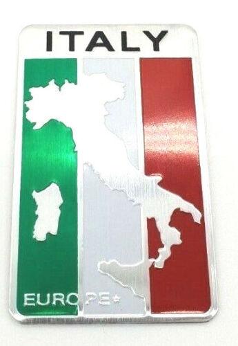 Aufkleber Sticker Emblem Flagge Wappen Logo Italien Italy Metall selbstklebend