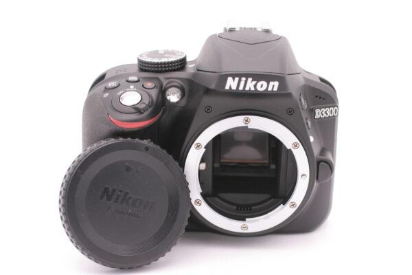 Ambitieux Nikon D D3300 24.2mp Caméra Slr Numérique - Noir