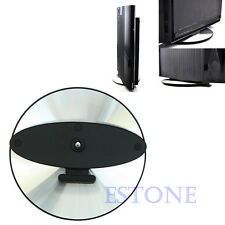 Black Vertical Round Stand Holder Base Super Slim for Sony PS3 CECH-4000 NEW