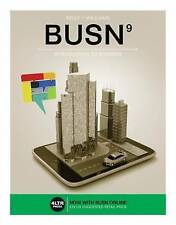 BUSN (with BUSN Online, 1 term (6 months) Printed Access Card) (9th Ed.)  by Wil