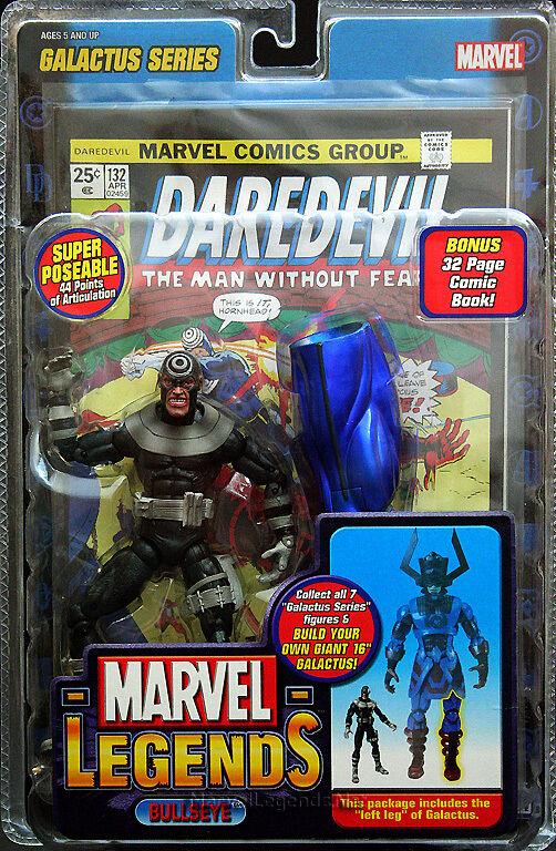 Marvel - legenden seltene variante bully galactus serie linkes bein neue ungeöffnete moc