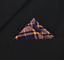 Pocket Square Navy /& Orange Cotton Plaid Handkerchiefs