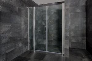 das bild wird geladen nischentuer dusche pendeltuer mit festteil duschtuer nische duschkabine - Dusche Pendeltur Nische