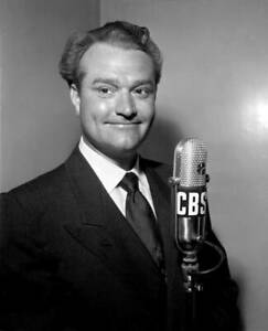 OLD-CBS-RADIO-PHOTO-CBS-Personality-And-Comedian-Red-Skelton-c1940s-2
