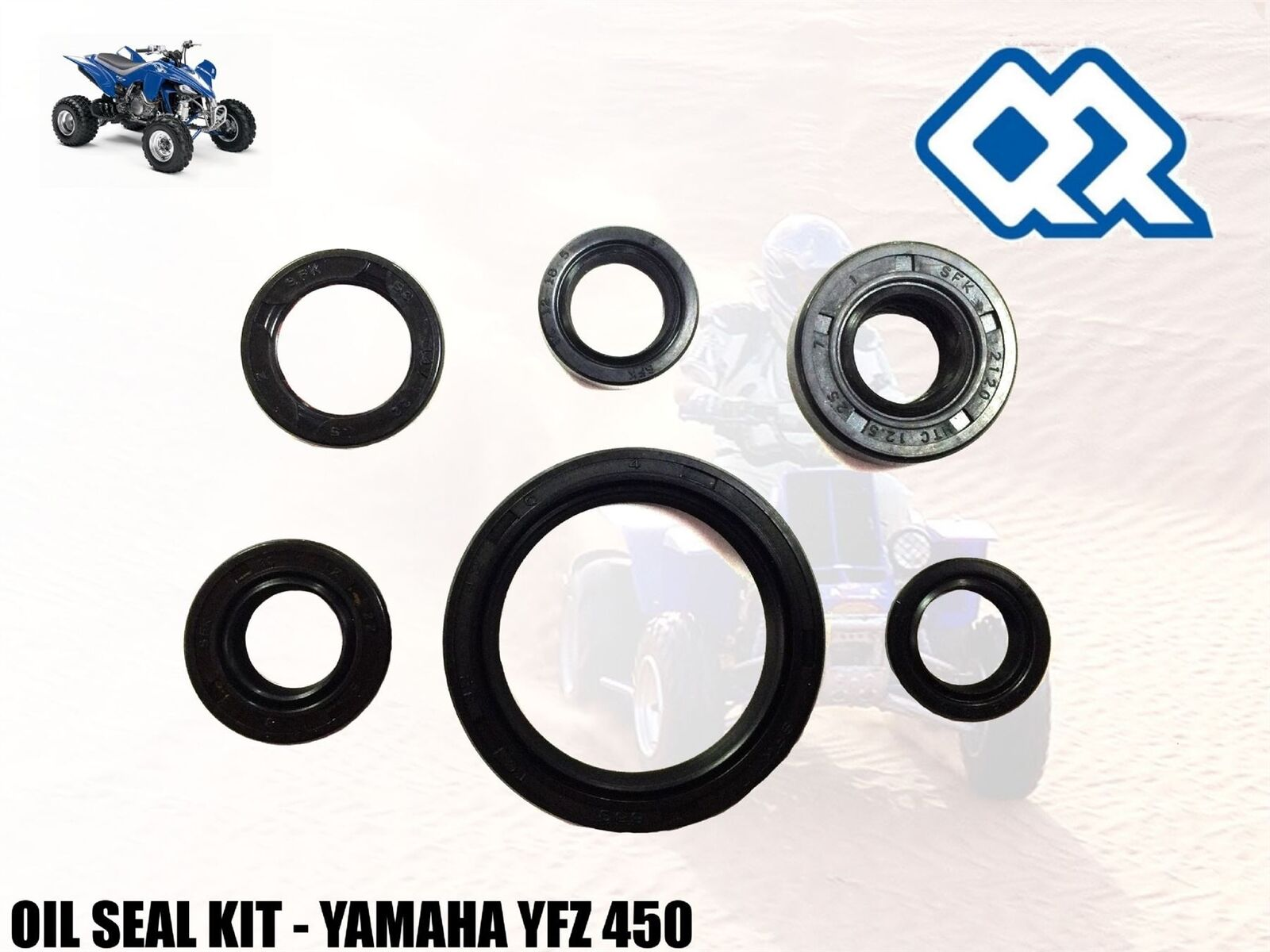 High Quality Oil Seal Kit Yamaha Yfz 450 Quad Atv All Years Ebay Wiring Harness Norton Secured Powered By Verisign