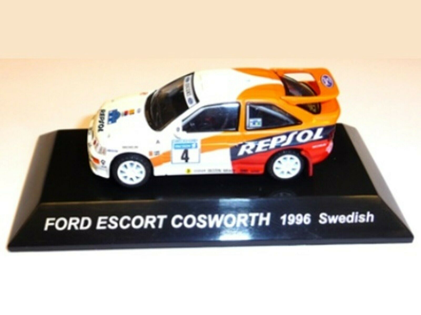 WOW EXTREMELY EXTREMELY EXTREMELY RARE Ford Escort RS Cosworth 1996 Sweden WRC 1 64 CM's Kyosho d6d938