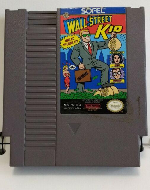 Wall Street Kid Nintendo Nes Video Game