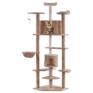 La Foto Se Está Cargando Beige New 80 034 Cat Tree Condo Furniture