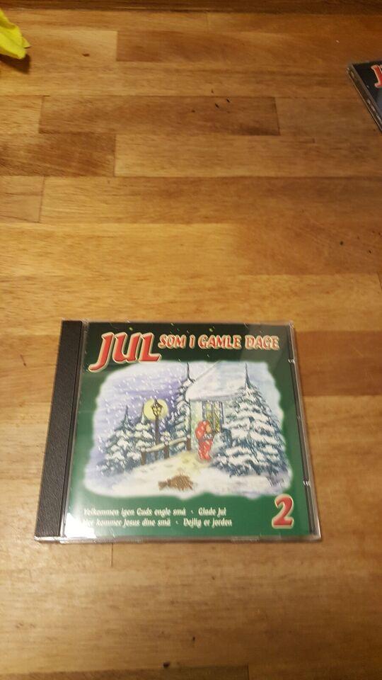 Various / Diverse: Jul Som i Gamle dage - 3 cd box, andet