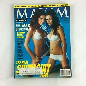 June-2001-Maxim-Magazine-The-Real-Swimsuit-Issue-Sex-War-amp-Dinosaurs