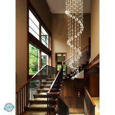 Crystal Pendant Chandelier Ceiling Lamp Lighting Fixture For Living Dining Room
