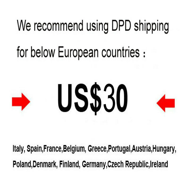 DPD free tax shipping for Electric bicycle Conversion Kit to EU countries