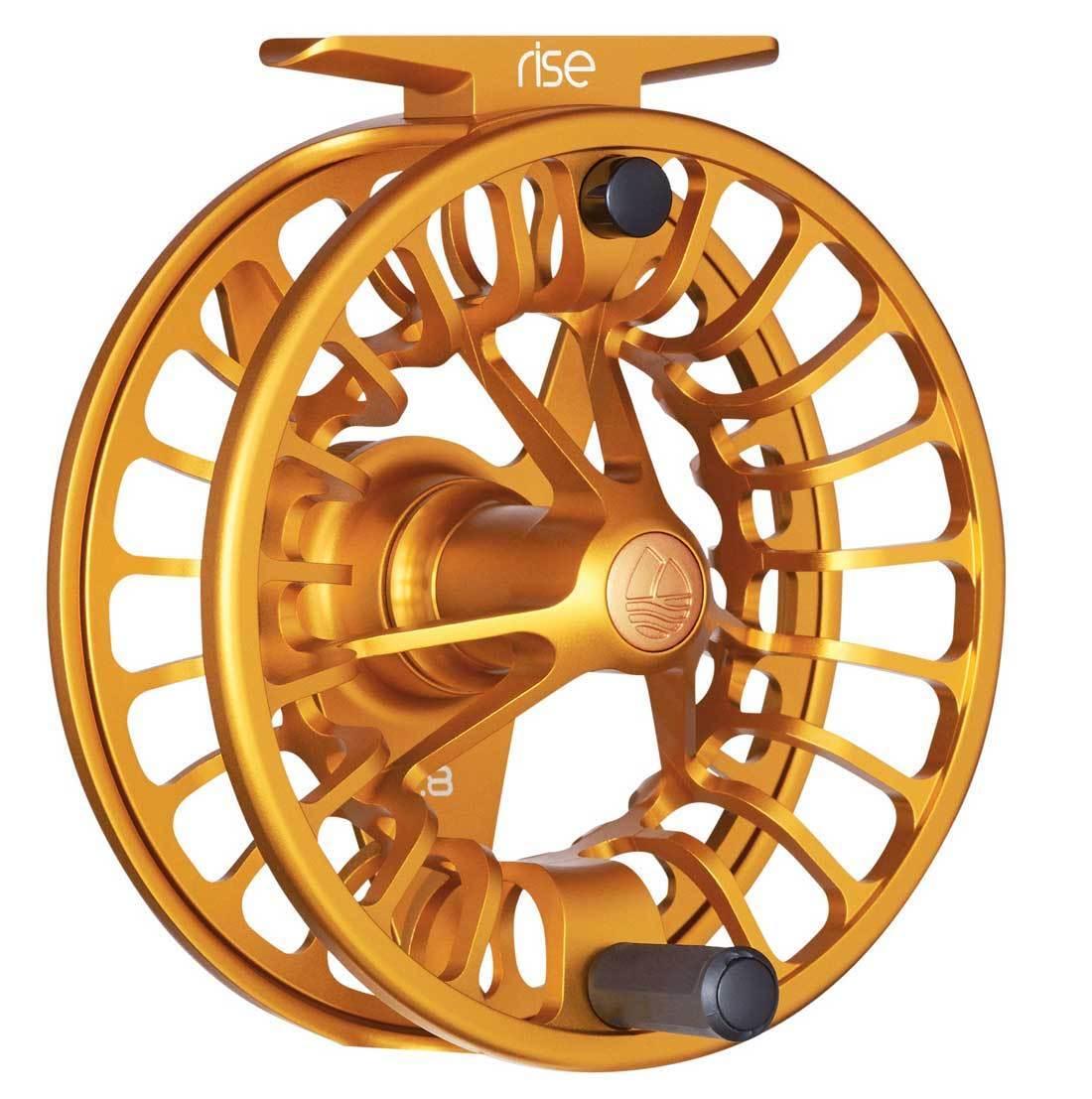 Redington Rise 5 6 Fly Fishing Reel - Amber - NIB w  warranty - Free US Shipping