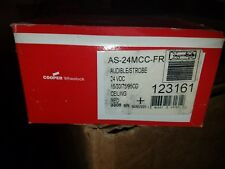 Cooper Wheelock As 24mcc Fr Horn Strobe Ceiling Mounted With Back Box