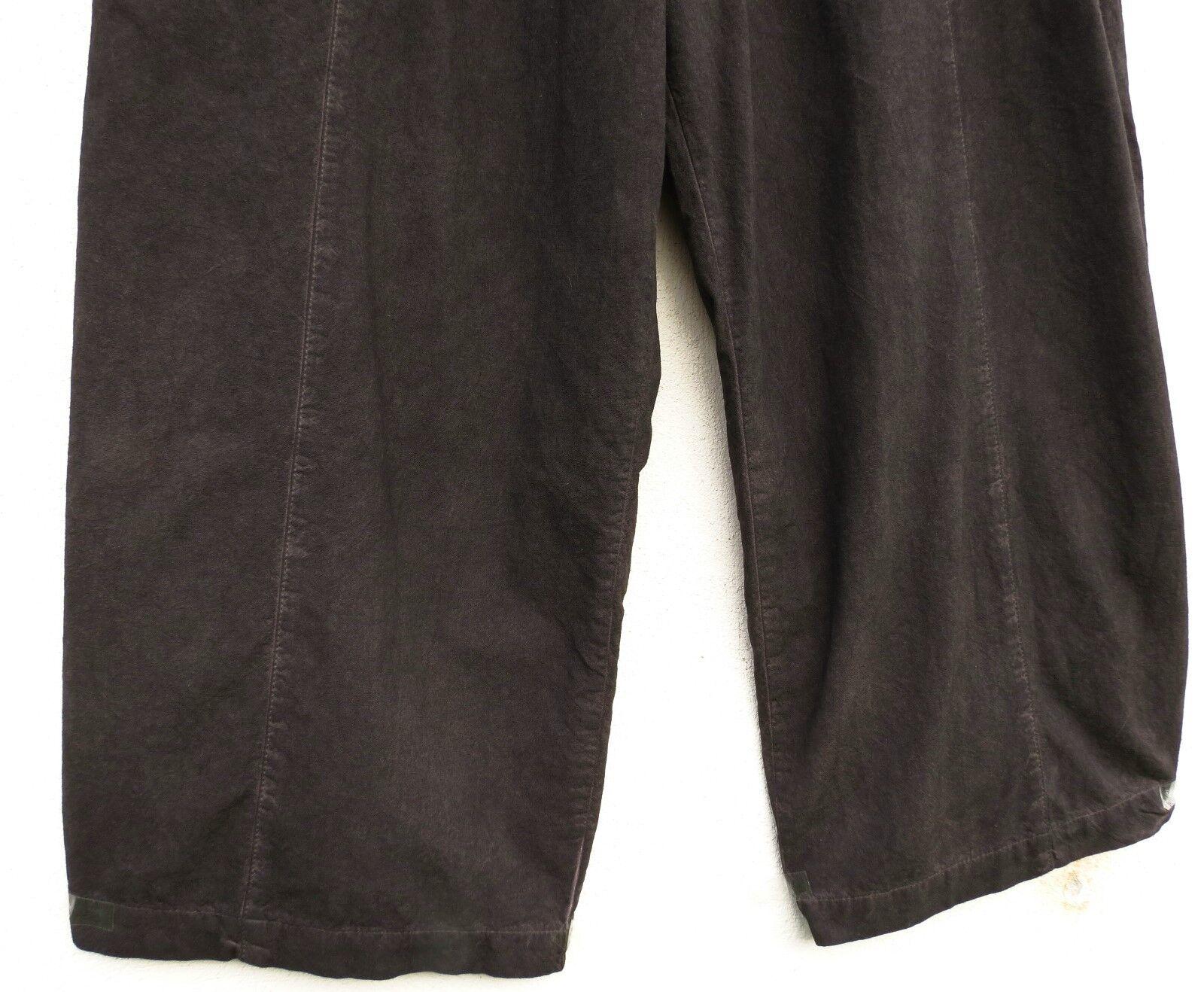 D 'Celli pantaloni trousers pantalon 10% LINO LINEN LINEN LINEN M 40 42 Lagenlook 32ecff