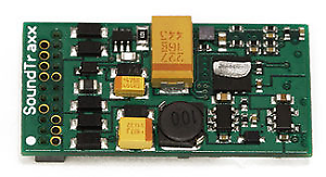Soundtraxx 881106 Econami Steam 4fn 1A 16 Bit 21Pin DCC Digital Sound Decoder