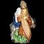 miniature 3 - OLD WORLD CHRISTMAS FLIGHT TO EGYPT GLASS CHRISTMAS ORNAMENT 10209