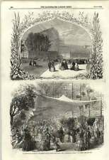 1855 Horticultural Exhibition Crystal Palace Sydenham