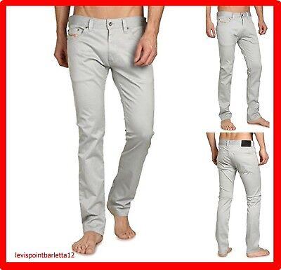 Pantalone Diesel Modello Jeans Thanaz-A Uomo Stretch Slim EstivoTaglia W 36 W38