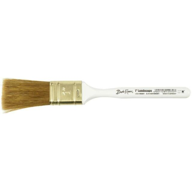 Bob Ross Paint Brush 1 Inch Landscape Oil Painting Brush - FREE SHIPPING