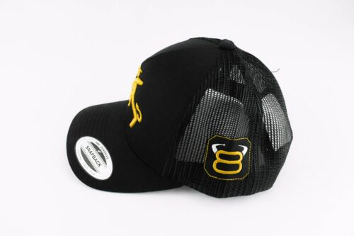 Trucker cap Western hat 8 Sec Rider Professional Bull Riders hat Rodeo hat