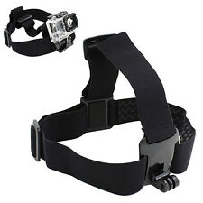 Action Camera Head Helmet Adjustable Strap Mount for GoPro HD Hero 2/3/3+/4 Cam*