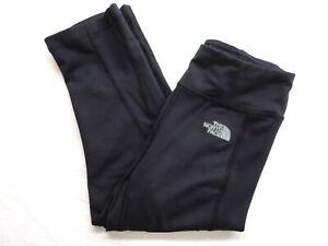 Détails sur The North Face TAILLE XS Noir pour Femmes Corsaire Leggings Fluo à Sec Randonnée