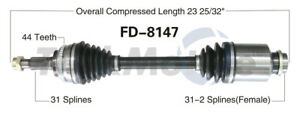 CV Axle Shaft Front Right SurTrack FD-8147
