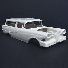 Jimmy Flintstone '58 Edsel Roundup 2DR. Wagon Resin Body #313