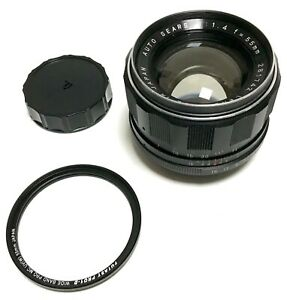 AUTO SEARS TOMIOKA 55MM F1.4 M42 MOUNT SLR 35MM FILM OR ADAPTED CAMERA LENS