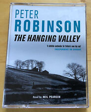 AUDIO BOOK: PETER ROBINSON The Hanging Valley read by Neil Pearson on 2 x Cass