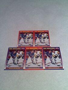 Brian-Mullen-Joe-Mullen-Lot-of-160-cards-89-DIFFERENT-Hockey