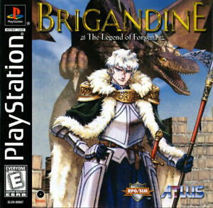 Brigandine-Legend-Of-Forsena-PS1-Great-Condition-Fast-Shipping