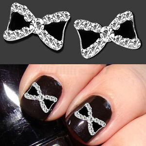 Chic-3D-10pcs-Bowknot-Nail-Art-Glitters-Decoration-Rhinestone-Bow-Manicure-Tips