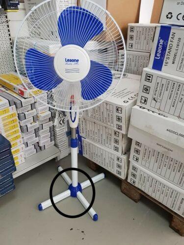 2 x Stand ventilatori VENTILATORE 3 velocità perforazioni 40 Watt ø40cm