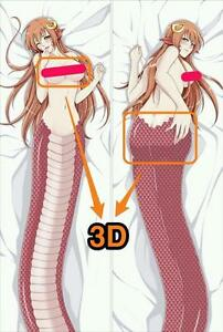 monster-musume-Miia-yc0455-Dakimakura-3D-butt-amp-3D-breast-pillow-case