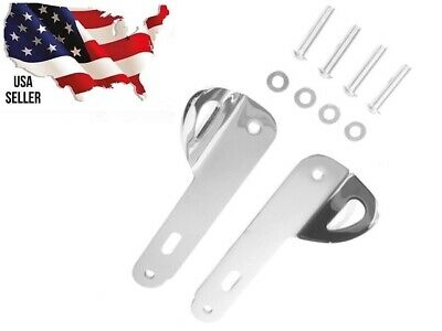 CHROME 14-2019 HARLEY TIE DOWN BRACKETS ULTRA GLIDE CLASSIC LIMITED LOW 93500011