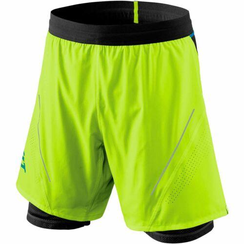Dynafit Herren Alpine Pro 2//1 Shorts Lauf Running Hose NEU