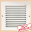 6-x-6-034-Air-Return-Vent-Cover-Duct-Size-Grille-Steel-Wall-Sidewall-Ceiling-White thumbnail 1