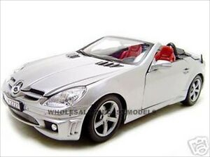 Image Is Loading 2005 Mercedes Slk 55 Amg Silver W Retractable