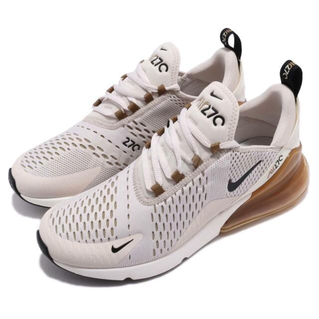 outlet store c334d cc6da Nike Air Max 270 Light Orewood Brown Black Men Running Shoes Sneakers  AH8050-108
