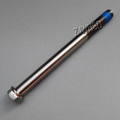 M8 x 95 Titanium Ti Screw Bolt Hexagon Hex Head Flange with Blue ThreadLocker