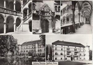 Spittal a.d.Drau, Schloß Porcia, Mehrbildkarte ngl G3959