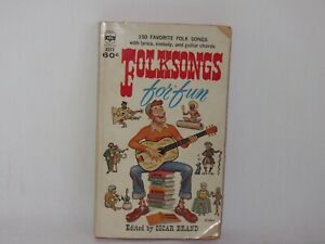 Details about 1961 Paperback 150 Favorite Folk Songs for Fun Edited Oscar  Brand Chords Lyrics