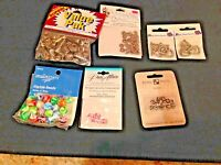 Jewelry Making Supplies Mixed Lot 7 Blue Moon Precious Accents Pure Alure Nicole